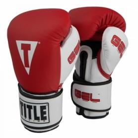 Перчатки боксерские Title Boxing Gel Intense (FP-2971-V) - красные