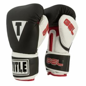 Перчатки боксерские Title Gel Intense Trening/Sparring (FP-2974-V) - черные