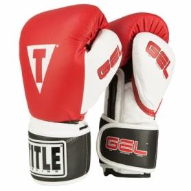 Перчатки боксерские Title Gel Intense Trening/Sparring (FP-2977-V) - красные