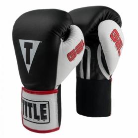 Перчатки боксерские Title Gel World Elastic Training (FP-2980-V) - черные