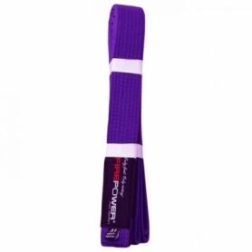 Пояс для Бразильского Джиу-Джитсу FirePower NEW (А3) Фиолетовый