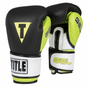 Перчатки боксерские Title Gel Intense W2T Bag (FP-2996-V) - зеленые