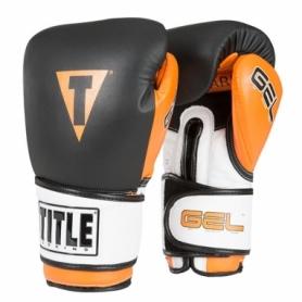 Перчатки боксерские Title Gel Intense W2T Bag (FP-2998-V) - оранжевые