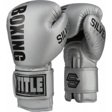 Перчатки боксерские TITLE Boxing Silver Series Select Training (FP-3214-V)