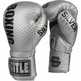 Перчатки боксерские TITLE Boxing Silver Series Stimulate (FP-6447-V)