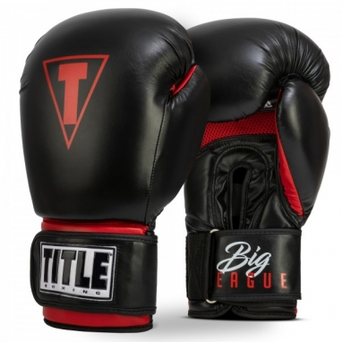 Перчатки боксерские TITLE Boxing Big-League XXL Bag Gloves (FP-6486-V)