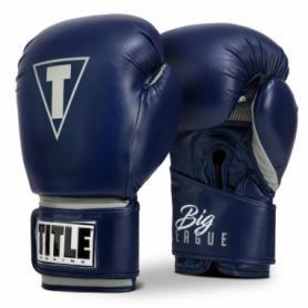 Перчатки боксерские TITLE Boxing Big-League XXL Trening Gloves (FP-6487-V)