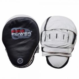 Лапы боксерские FirePower CG3 (FP-6504), бело-черные