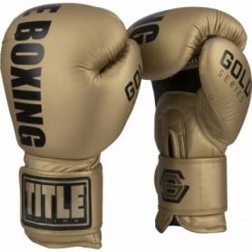 Перчатки боксерские Title Boxing Gold Series Select Training (FP-6989-V)