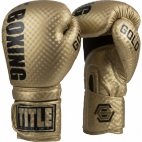 Перчатки боксерские Title Boxing Gold Series Stimulate Boxing (FP-6993-V)