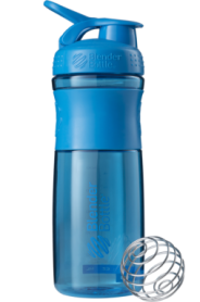 Бутылка спортивная-шейкер BlenderBottle SportMixer 820ml Cyan