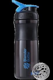 Бутылка спортивная-шейкер BlenderBottle SportMixer 820ml Black/Cyan