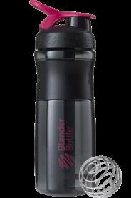 Бутылка спортивная-шейкер BlenderBottle SportMixer 820ml Black/Pink