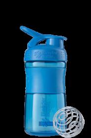 Бутылка спортивная-шейкер BlenderBottle SportMixer 590ml Cyan