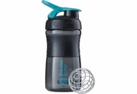 Бутылка спортивная-шейкер BlenderBottle SportMixer 590ml Black/Teal