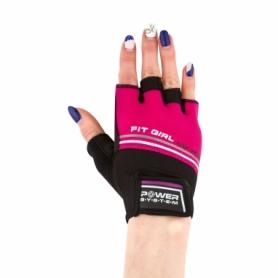 Перчатки для фитнеса Power System Fit Girl Evo Pink (PS_2920_Pink)