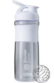 Бутылка спортивная-шейкер BlenderBottle SportMixer 820ml White