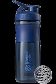 Бутылка спортивная-шейкер BlenderBottle SportMixer 820ml Navy