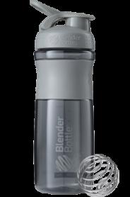 Бутылка спортивная-шейкер BlenderBottle SportMixer 820ml Grey