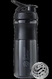 Бутылка спортивная-шейкер BlenderBottle SportMixer 820ml Black