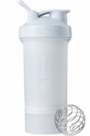 Шейкер спортивный BlenderBottle ProStak 650ml с 2-мя контейнерами White