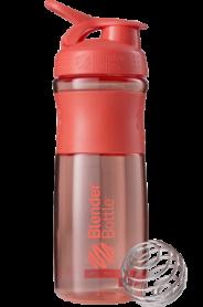 Бутылка спортивная-шейкер BlenderBottle SportMixer 820ml Coral