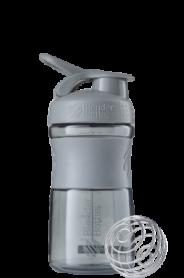 Бутылка спортивная-шейкер BlenderBottle SportMixer 590ml Grey