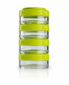 Контейнер спортивный BlenderBottle GoStak 4*40ml Green