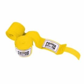 Бинты боксерские Power System PS-3404 Yellow, 4 м