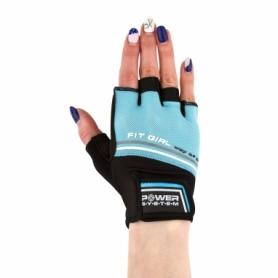 Перчатки для фитнеса Power System Fit Girl Evo Blue (PS_2920_Blue)