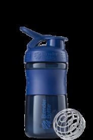 Бутылка спортивная-шейкер BlenderBottle SportMixer 590ml Navy