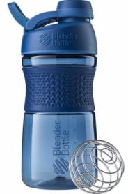 Бутылка спортивная-шейкер BlenderBottle SportMixer Twist 590ml Navy