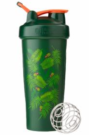 Шейкер спортивный BlenderBottle Classic Loop 820ml Special Edition Green-Coral (Art Palm)