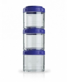 Контейнер спортивный BlenderBottle GoStak 3 Pak Purple