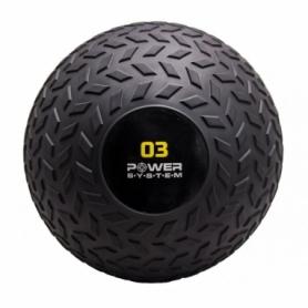 Медбол Slamball Power System PS-4114 3кг рифленый