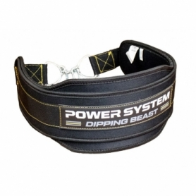 Пояс для утяжеления Power System Dipping Beast PS-3860, желтый