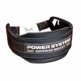 Пояс для утяжеления Power System Dipping Beast PS-3860, красный