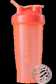 Шейкер спортивный BlenderBottle Classic Loop 820ml Coral