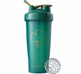 Шейкер спортивный BlenderBottle Classic Loop 820ml Special Edition  Gold Green