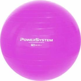 Мяч для фитнеса (фитбол) 75 см Power System Pro Gymball (4013PI-0), розовый