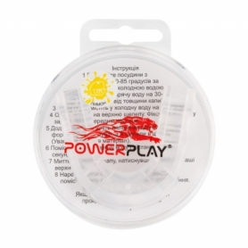 Капа боксерская PowerPlay 3306 JR (PP_3306_JR_Trans_LEMON)
