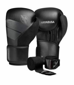 Перчатки боксерские Hayabusa S4 (Original) (HB_S4_Black) - черные