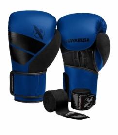 Перчатки боксерские Hayabusa S4 (Original) (HB_S4_Blue) - синие