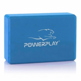 Блок для йоги PowerPlay 4006 Yoga Brick (PP_4006_Blue_Yoga_Brick)