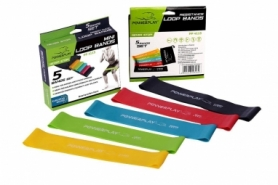 Резинка для фитнеса (набор из 5 штук) PowerPlay (PP_4113)