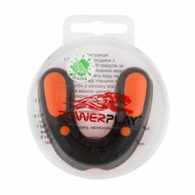 Капа боксерская PowerPlay 3315 SR MINT (PP_3315_SR_BLACK/OR/MINT)