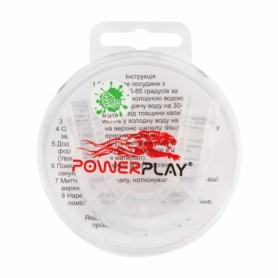 Капа боксерская PowerPlay 3306 JR (PP_3306_JR_Trans_MINT)