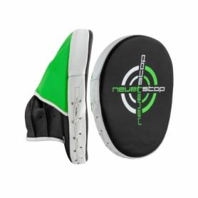 Лапы боксерские PowerPlay PU (PP3073_Black/Green)