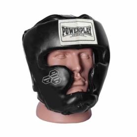 Шлем боксерский тренировочный PowerPlay 3043 (PP_3043_Black - черный
