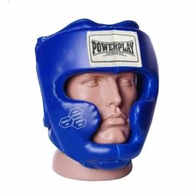Шлем боксерский тренировочный PowerPlay 3043 (PP_3043_Blue) - синий
